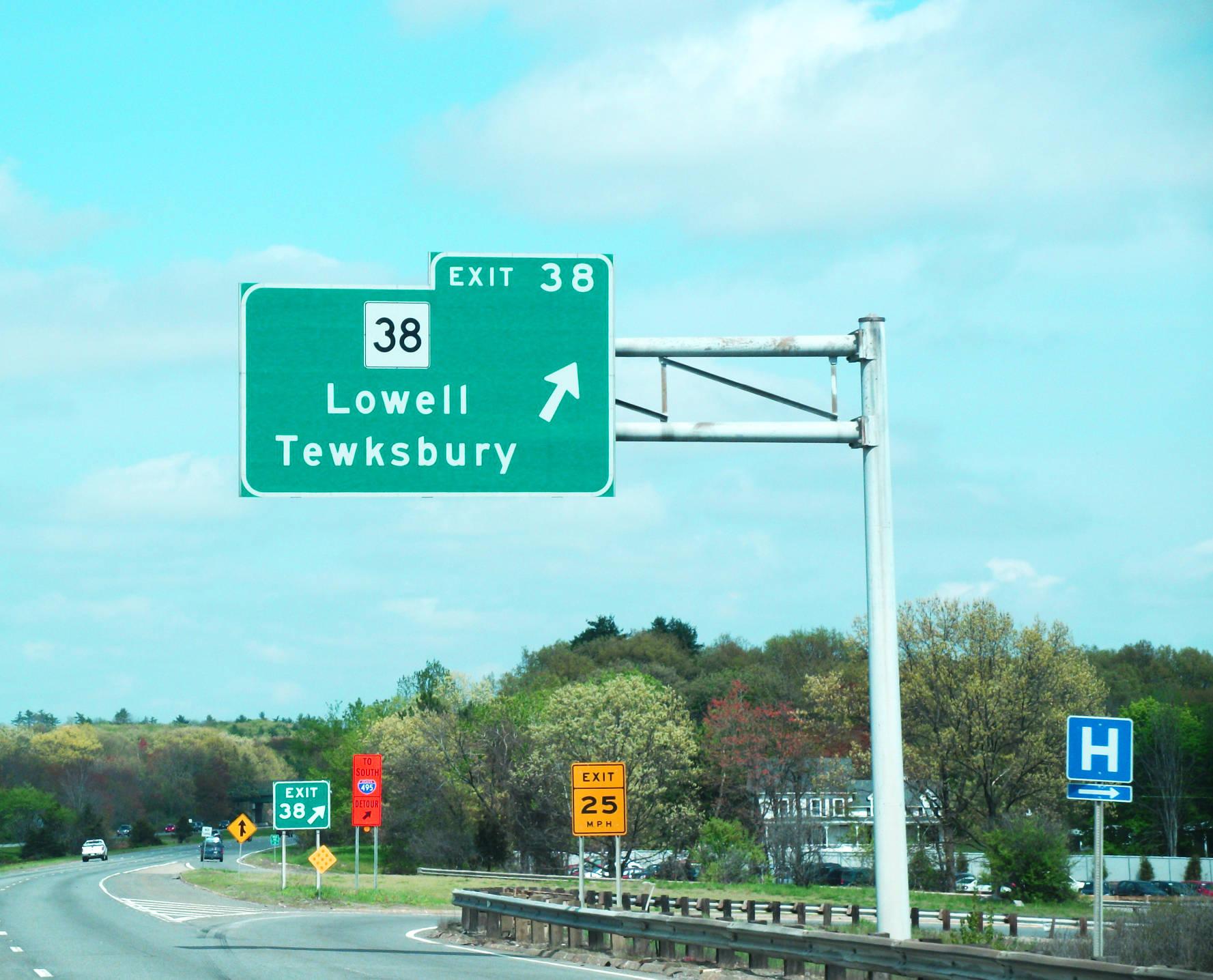 Interstate 495 - Massachusetts