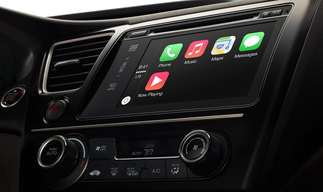 CarPlay interface